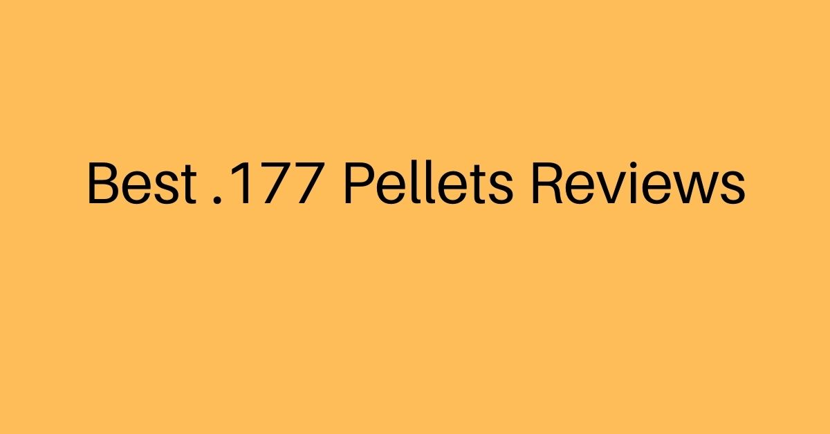 Best .177 Pellets Reviews - Best 177 Pellets for Hunting, Accuracy, Small Things (2021)