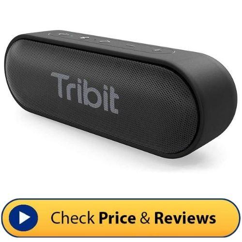 Tribit XSound Go Bluetooth Speaker 1 - 10 Best Camping Speakers: Portable, Waterproof, Bluetooth