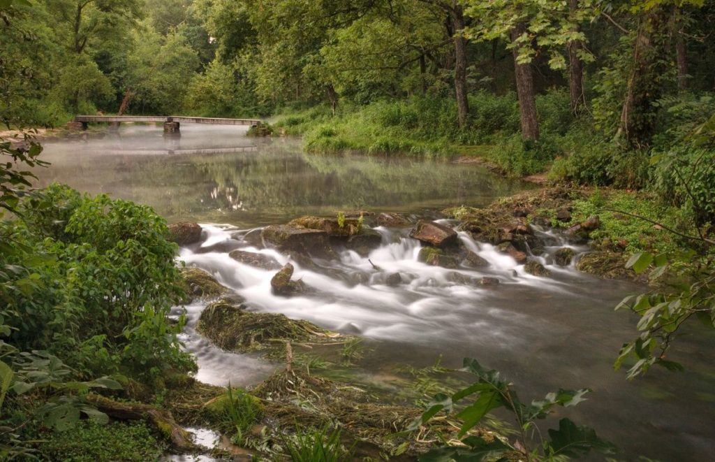 A state park in Missouri - Can You Take Rocks From State Parks