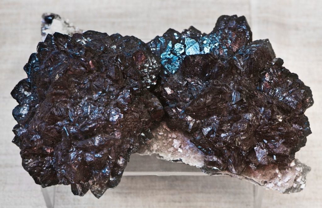 A large Salaphite rock - a valuable collectible mineral that can be found in Missouri